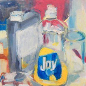 Joy | oil on panel 9 x 9 2012