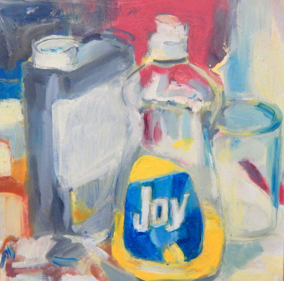 Joy | oil on panel 9 x 9 2012
