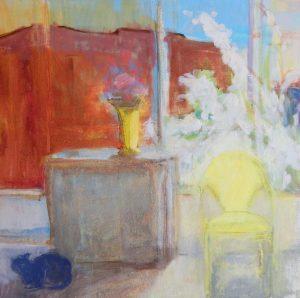 East Harrison Street | oil on canvas 24 x 24 2012