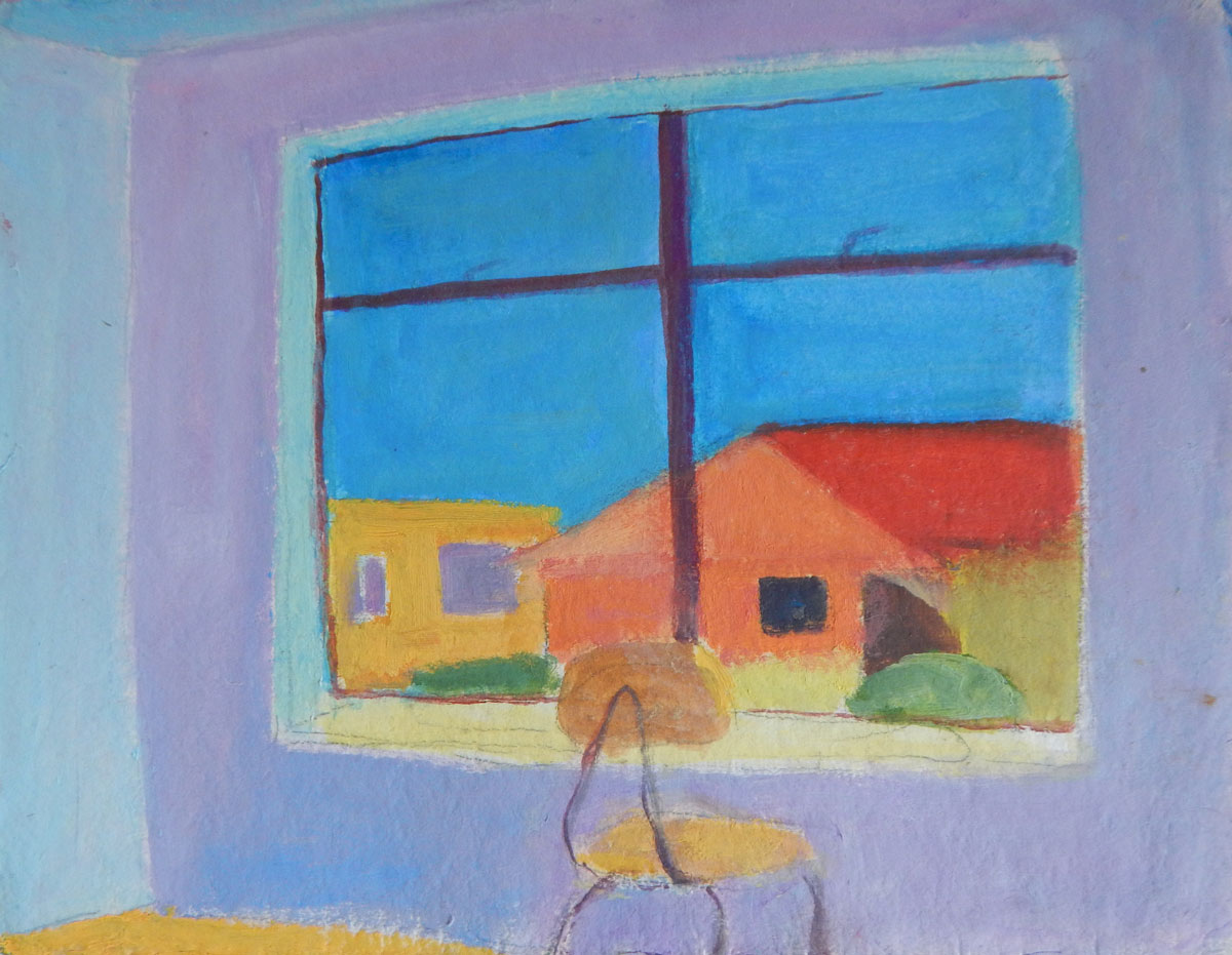New apartment | oil on paper 8 x 10 2007